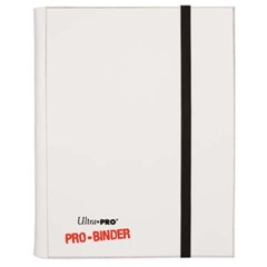 Ultra Pro 9 Pocket Pro Binder White