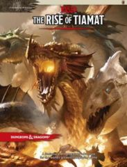 D&D 5th Edition The Rise of Tiamat Hardcover Book