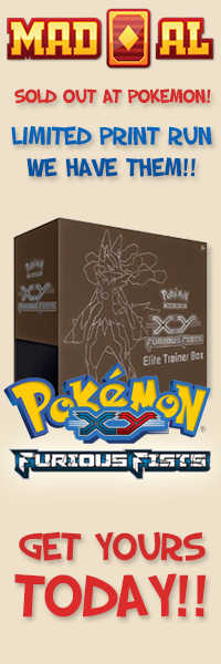 Pokemon XY3 Furious Fist Elite Trainer Boxes