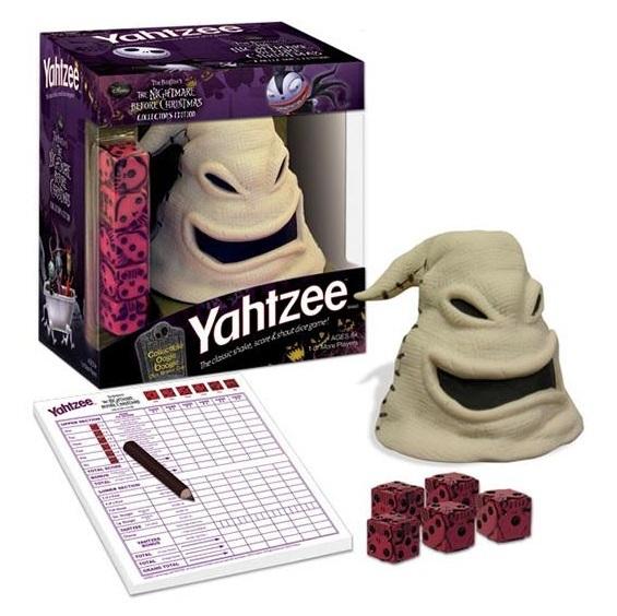 MAD AL - Yahtzee Nightmare Before Christmas Oogie Boogie - Board ...
