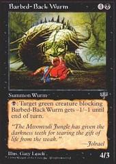 Barbed-Back Wurm