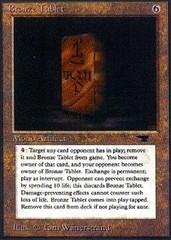 Bronze Tablet
