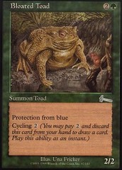 Bloated Toad - Foil
