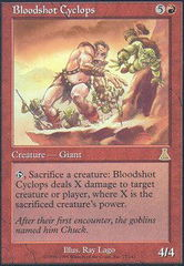 Bloodshot Cyclops - Foil