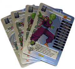 Piccolo - 4 Personality Card Set - High Tech Foil