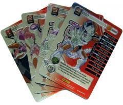 Frieza - 4 Personality Card Set - High Tech Foil
