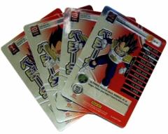 Vegeta - 4 Personality Card Set - High Tech Foil