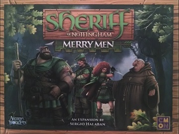 Sheriff of Nottingham Expansion: Merry Men