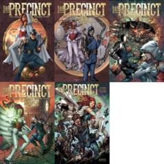 Precinct Lot 1 Cover A 2 3 4 5 Set