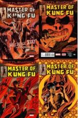 Master Of Kung Fu Lot 1 2 3 4 Set (Secret Wars)
