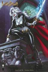 Lady Death Chaos Rules #1 J Scott Campbell Premium Cover