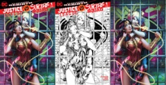 Justice League Suicide Squad #1 (Of 6) Most Good Hobby Exclusive Dawn McTeigue Variant Set
