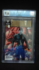 Shadowman #1 Gold Edition CGC 9.6