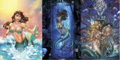 GFT Little Mermaid #2 Lot Cover A B C Set