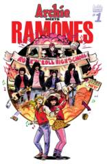 Archie Meets Ramones One Shot Cover B Variant Veronica Fish