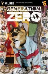 Generation Zero #5 Cover C Cat Cosplay Var