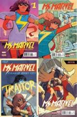 Ms Marvel Lot 1 2 3 4 (ANADM)
