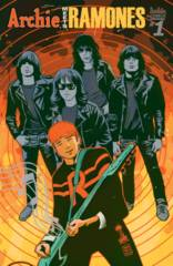Archie Meets Ramones One Shot Cover C Variant Francavilla