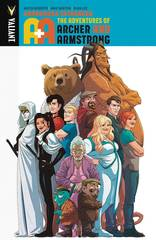 A&A Adv Of Archer & Armstrong Vol 3 Andromeda Estranged TPB