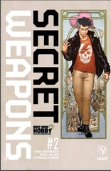 Secret Weapons #2 Most Good Hobby Exclusive Jen Broomall Variant