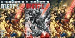 Dark Nights Metal #1 Most Good Hobby Exclusive EBAS Color B/W & Virgin Variant Set