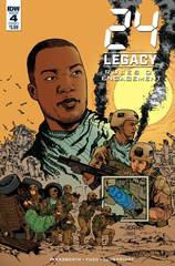 24 Legacy Rules Of Engagement #4 (Of 5) Cover A Jeanty