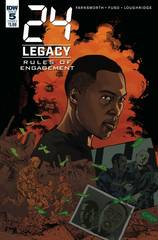 24 Legacy Rules Of Engagement #5 (Of 5) Cover A Jeanty