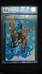 A&A: The Adventures of Archer & Armstrong #1 Gold Edition CGC 9.6