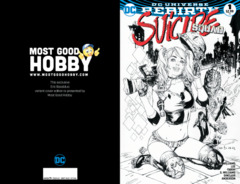 Suicide Squad #1 Most Good Hobby EBAS INKED Variant (REBIRTH)