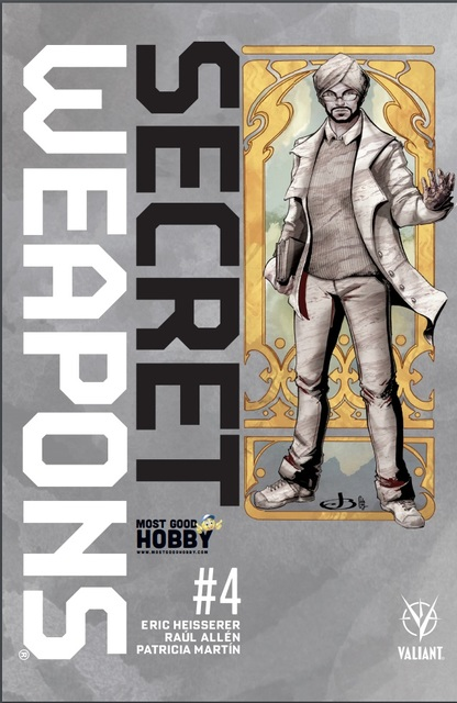 Secret Weapons #4 Most Good Hobby Exclusive Jen Broomall Variant