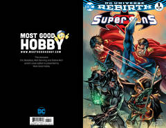 Super Sons #1 Most Good Hobby Exclusive EBAS Variant (REBIRTH)