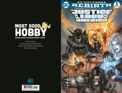 Justice League of America #1 Most Good Hobby Exclusive EBAS Variant (REBIRTH)