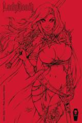 Lady Death Chaos Rules #1 Mcteigue 1:25 Variant Cover