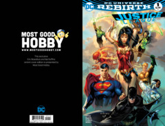 Justice League #1 Most Good Hobby Exclusive EBAS Variant (REBIRTH)