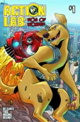 Action Lab Dog Of Wonder #1 Cover B Williams Variant LTD to 1500