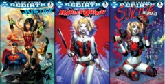 Justice League Harley Quinn Suicide Squad Most Good Hobby Exclusive EBAS Color Set
