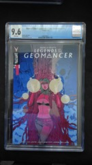 Book of Death: Legends of the Geomancer #1  CGC 9.6