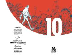 Americatown #1 10 Year 1:10 Liew Variant