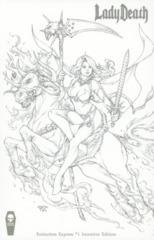 Lady Death Extinction Express #1 1:10 Pantalena Variant