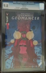 Book of Death Legends of the Geomancer #1 1:25 Variant CGC 9.8