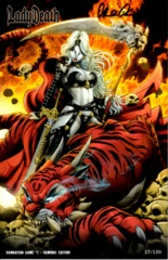Lady Death Damnation Game #1 Tabanas Demonic Edition 2016 C2E2 Exclusive