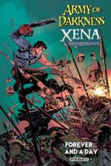 AOD Xena Forever And A Day #1 (Of 6) Cover A Brown