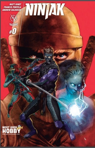 Ninjak #0 Most Good Hobby Exclusive Guedes Variant