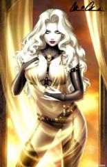 Lady Death All Hallows Evil #1 Sensual Virgin Edition Kickstarter Exclusive