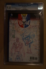 Multiversity Ultra Comics #1 1:100 Morrison CGC 9.8