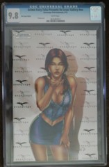 GFT Oz Cover Gallery Ed Benes Red Carpet Variant LE 100 CGC 9.8