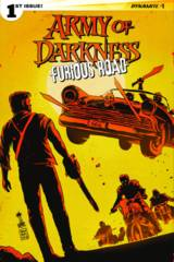 Army Of Darkness Furious Road #1 (Of 5) Cover C Francavilla