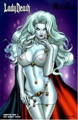 Lady Death Damnation Game #1 Ortiz Very Naughty Edition 2016 C2E2 Exclusive