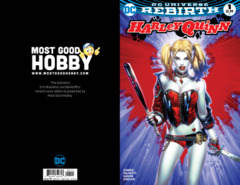 Harley Quinn #1 Most Good Hobby Exclusive EBAS Variant (REBIRTH)