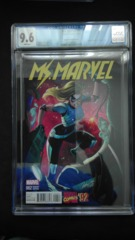 Ms. Marvel #2 1:20 Campbell Variant CGC 9.6